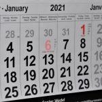 ¿Qué tener en cuenta para el calendario laboral 2021?